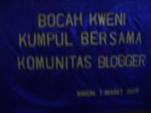 blogger kumpul bocah kweni... :D